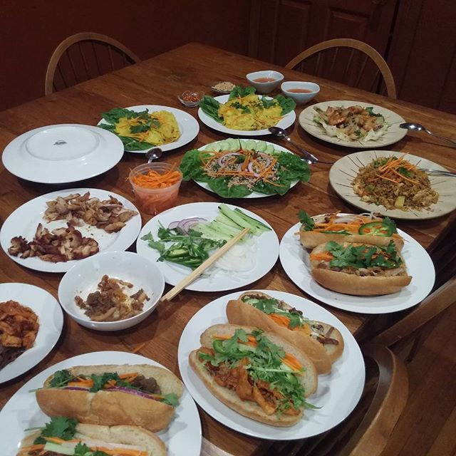 Todays sampling... Deciding what to add to our menu. #soulisas