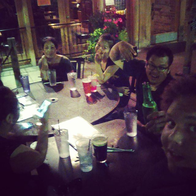 Black Rose Pub with the coworkers. #dinner #soulisas #hendo
