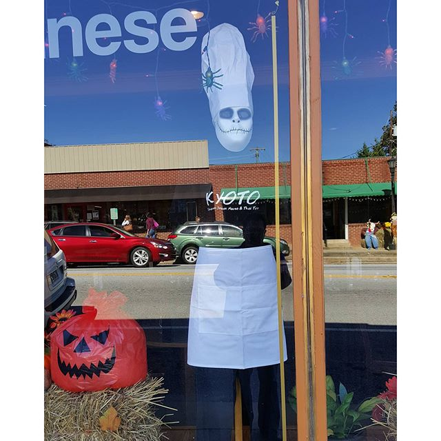 Vote for our scarecrow when you come to #Landrum #landrumsc.  #soulisas